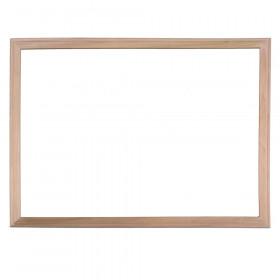 """Wood Framed Dry Erase Board, 24"""" x 36"""""""
