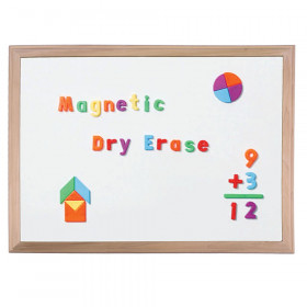 "Wood Framed Magnetic Dry Erase Board, 24"" x 36"""
