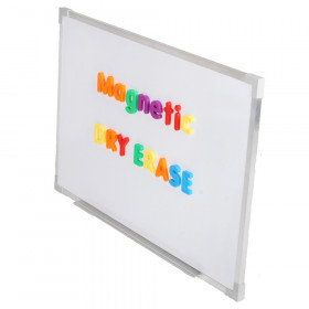 "Aluminum Framed Magnetic Dry Erase Board 24"" x 36"""