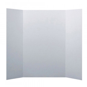 "Corrugated Mini Project Board, 15"" x 20"", White, Pack of 24"