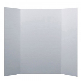 "Project Board, 1 Ply, 36""W x 48""L, White, Pack of 24"