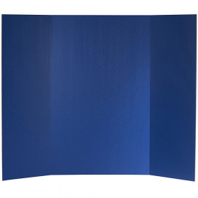 "Corrugated Project Board, 1-Ply, 36"" x 48, Blue, Box of 24"
