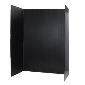 Premium Corrugated Plastic Project Board Black, 36 x 48, Pack of 10