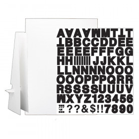 """20"""" x 30"""" White Corrugated Project Sheet Sign Kit - Pack of 5"""
