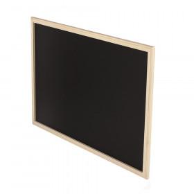 Wood Framed Chalk Board 24X36