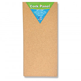 "Cork Panel, 16"" x 36"""