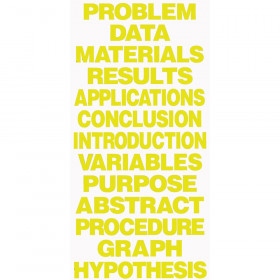 Project Board Titles Yellow