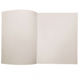 """Soft Cover Blank Book, 8.5"""" x 11"""" Portrait, 14 Sheets Per Book, Pack of 12"""