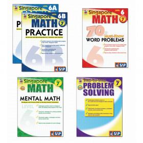 Singapore Math Bundle Gr 7