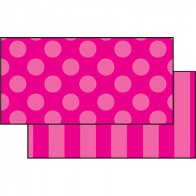 Pink Sassy Solids Double Sided Border