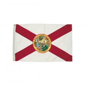 3x5' Nylon Florida Flag Heading & Grommets