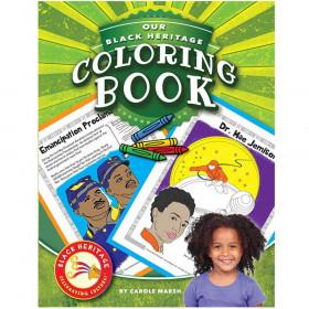 Black Heritage: Celebrating Culture!, Black Heritage Coloring Book