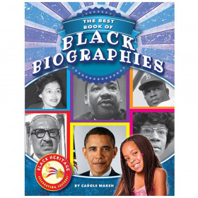 Black Heritage: Celebrating Culture!, Best Book of Black Biographies