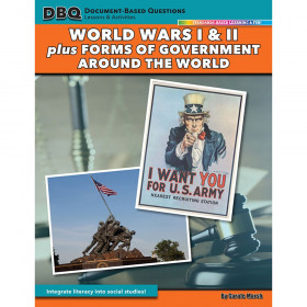 DBQ Lessons & Activities: World Wars I and II + Forms of Government Around the World