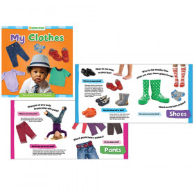 Grow with STEAM Board Book, My Clothes