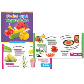 Grow with STEAM Board Book, Fruits and Vegetables