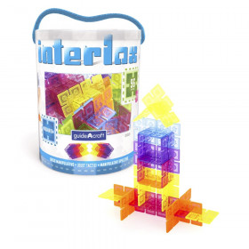Interlox Building Set, 96 pieces
