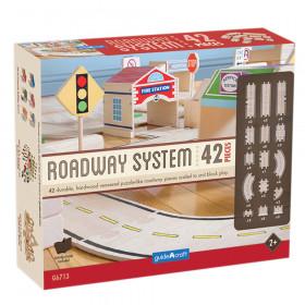 Guidecraft Roadway System, 42 Pc Set