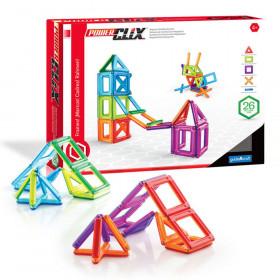 PowerClix Frames, Magnetic Building Set, 26 Pieces