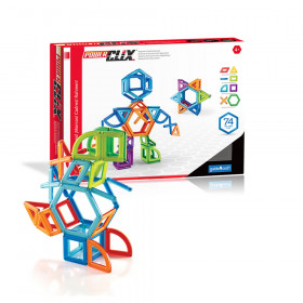 PowerClix Frames, Magnetic Building Set, 74 Pieces