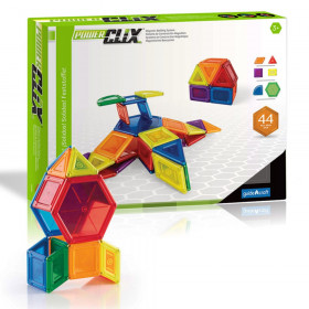 Powerclix Solids 44 Pieces