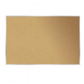 "Aluminum Frame Corkboard, 18"" x 24"""