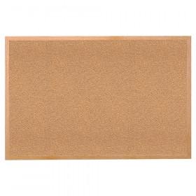 """Wood Frame Cork Bulletin Board, 18"""" x 24"""""""