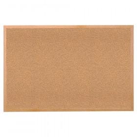 "Wood Frame Natural Corkboard, 24"" X 36"""