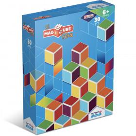 Magicube 30-Piece Multicolored Free Building Set