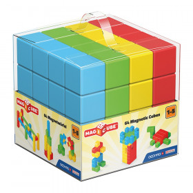 Magicube 64-Piece Free Building Set, Assorted Colors