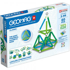 Geomag Green Line Color, 60 Pieces