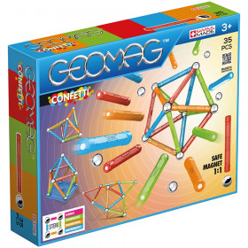 Geomag Confetti Set 35 Pieces