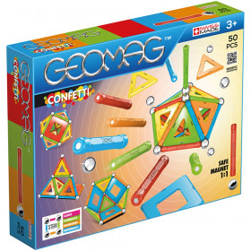 Geomag Confetti Set, 50 Pieces