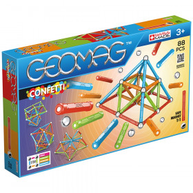 Geomag Confetti Set 88 Pieces