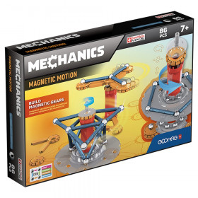 Geomag Mechanics Magnetic Motion Set, 86 pieces