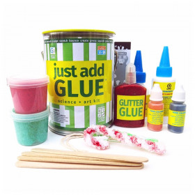 Just Add Glue Science + Art Kit
