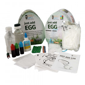 Just Add Egg - Organic Science & Art Kit