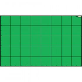 Wonder League Robotics Competition Green Screen Mat, 150cm x 240cm with 30cm Grid