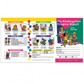 Pre-Kindergarten Progress Report (3 year olds)