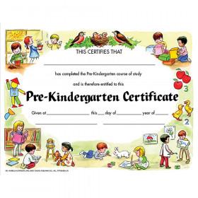 """Pre-Kindergarten Certificate, 8.5"""" x 11"""", Pack of 30"""