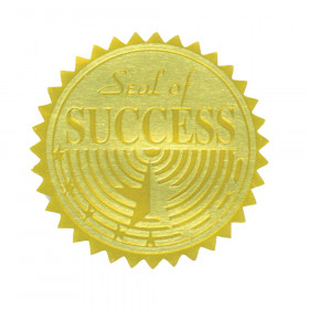 Gold Foil Embossed Seals, Seal of Success
