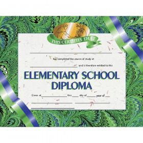 "Elementary School Diploma, 8.5"" x 11"", Pack of 30"