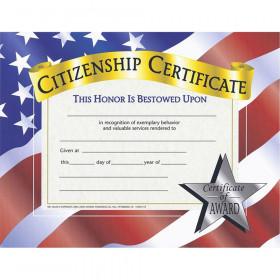 Certificates Citizenship 30 Pk 8.5 X 11