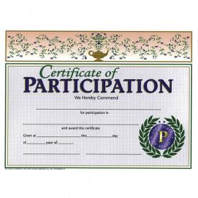 Certificates Of Participation 30/Pk 8.5 X 11