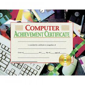 Computer Achievement 30/Pk 8.5X11 Certificates