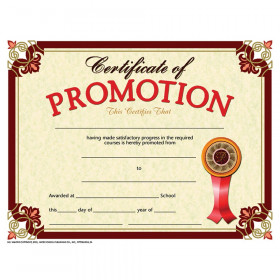 "Certificate of Promotion, Pack of 30, 8.5"" x 11"""