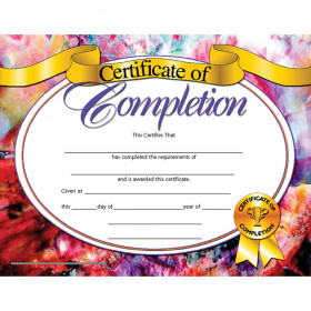 """Certificate of Completion, 8.5"""" x 11"""", Pack of 30"""