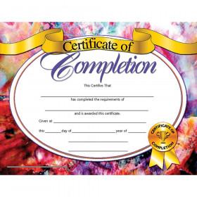 Certificates Of Completion 30/Pk 8.5 X 11 Inkjet Laser