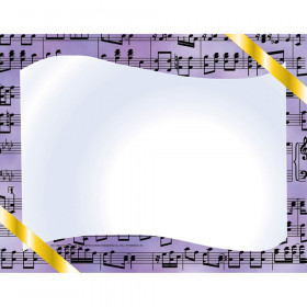 """Music Border Paper, 8.5"""" x 11"""", Pack of 50"""
