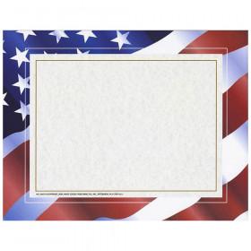 Stars N Stripes Certificate Border Computer Paper 50/Pk
